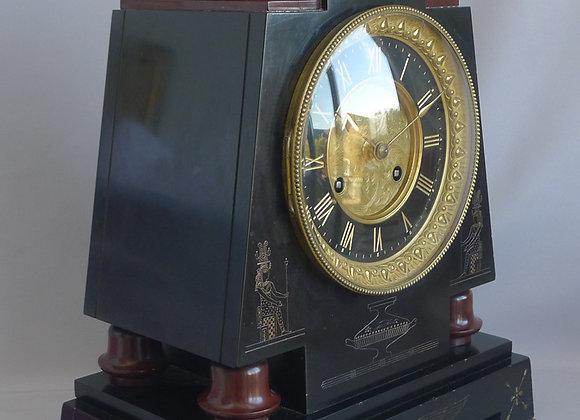 Antique French Napoleon III mantel clock