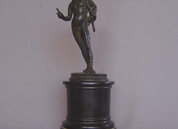 Antique Italian Grand Tour bronze model of Narcissus, Neopolitan