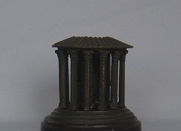 Antique Grand Tour model of the Temple of Vesta.