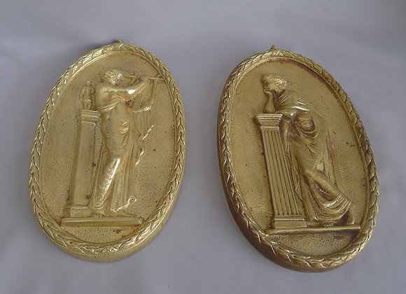 Antique Brass plaques