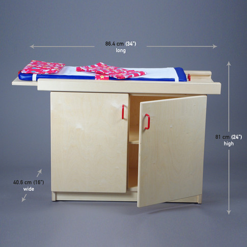 EXAM TABLE with sliding top