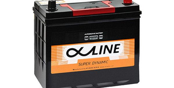 Аккумулятор ALPHALINE SD 55 а/ч R (70B24R)
