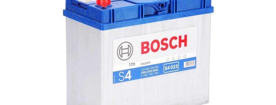 Аккумулятор BOSCH S4 60 R+