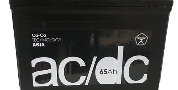 Аккумулятор AC/DC 75D23 L,R (65 а/ч)