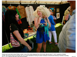 Made the Paper, Wig and All.