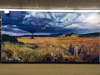 ODU Mural Completion