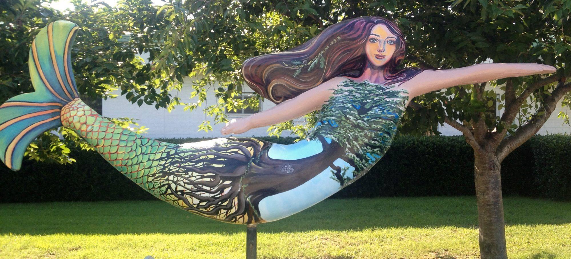 Norfolk Collegiate Mermaid