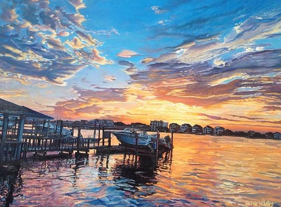 Boat Ride Print