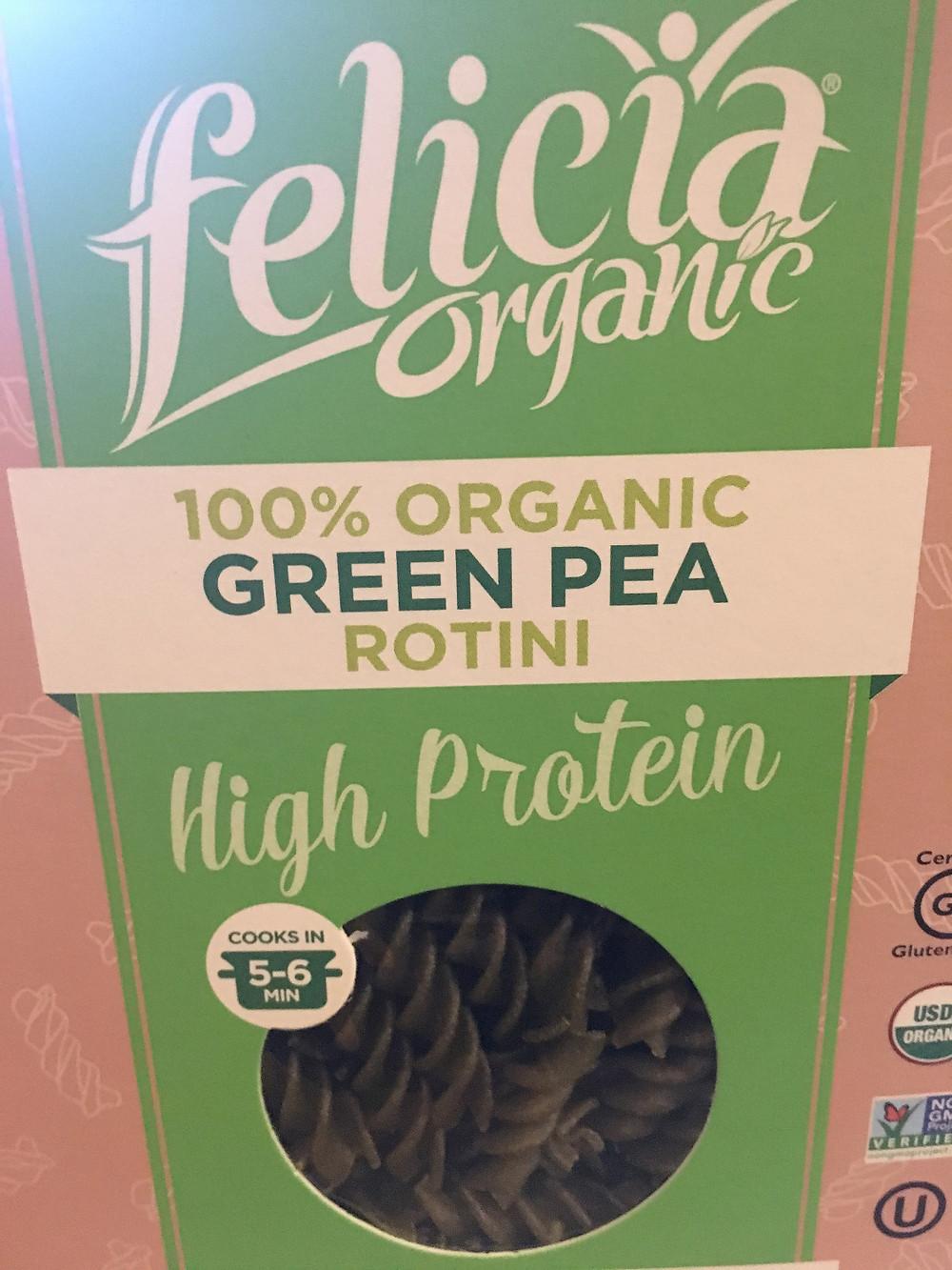 felicia organic pasta