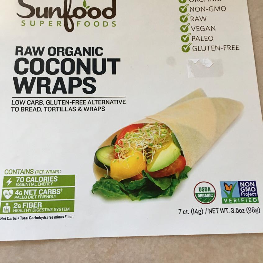 coconut low carb wraps