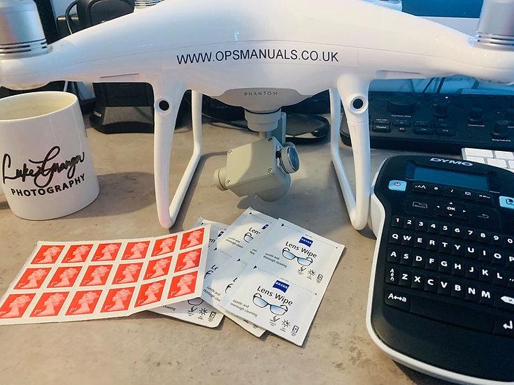 Drone Operator ID Stickers