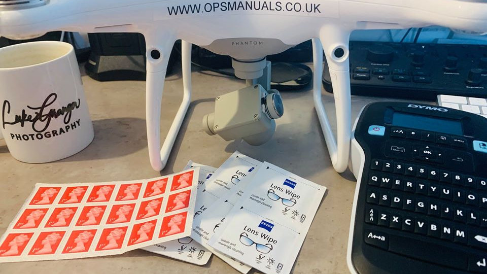 Drone Operator ID Stickers