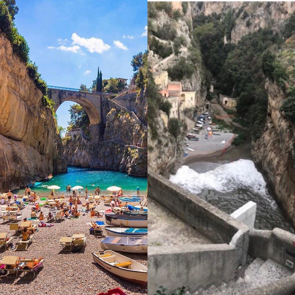 instagram v reality| positano| travelsbykatie | travels by katie|
