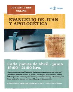 estudio biblico apologetica y evangelio de Juan