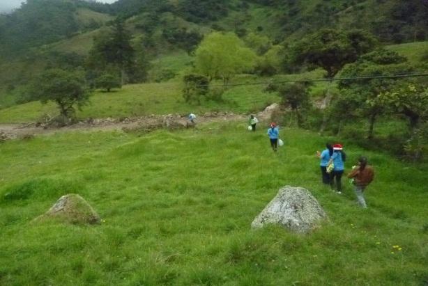 En la zona rural de Choachí