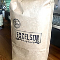 Excelso coffee beans retail bags (ground to order available)