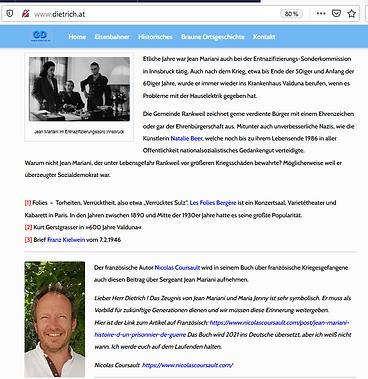 Blog Günter Dietrich