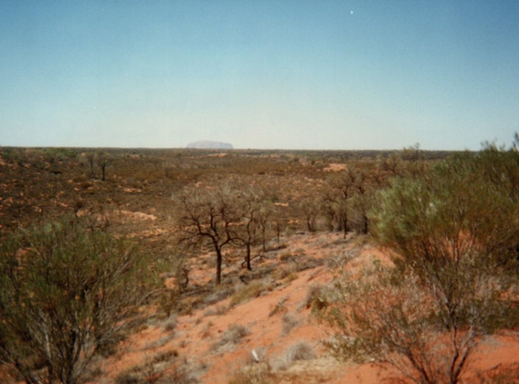 5 Ayers Rock à 50 km