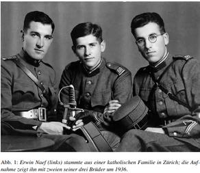 Erwin Naef et l'accueil des réfugiés en Suisse pendant la Seconde Guerre mondiale