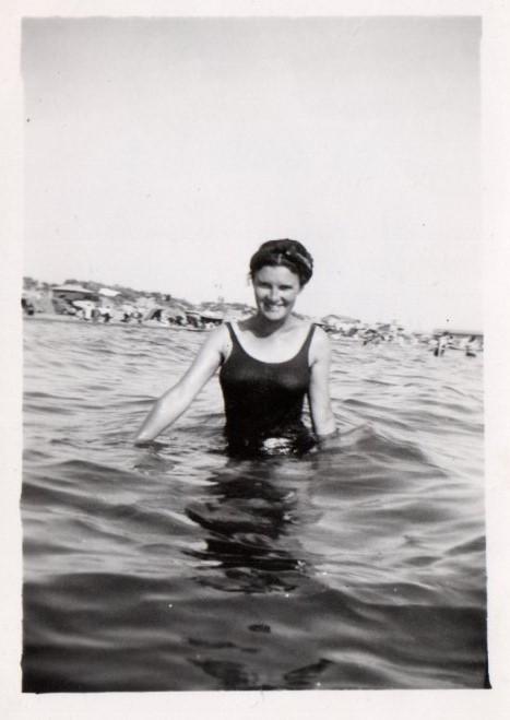 Raymonde Arienti 1938 Carry-le-Rouet