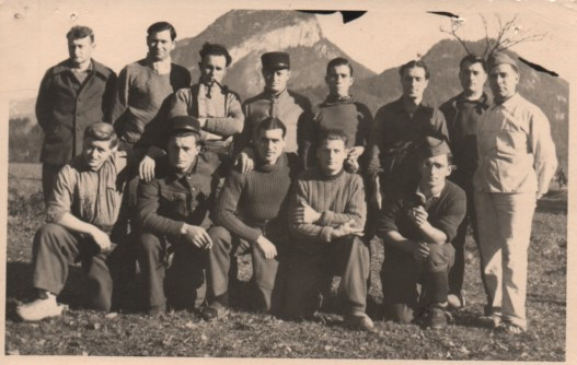 1941 Bruno et les KG Stalag XVIIIC