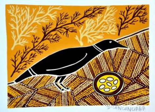 Crow with Nest (Dry)