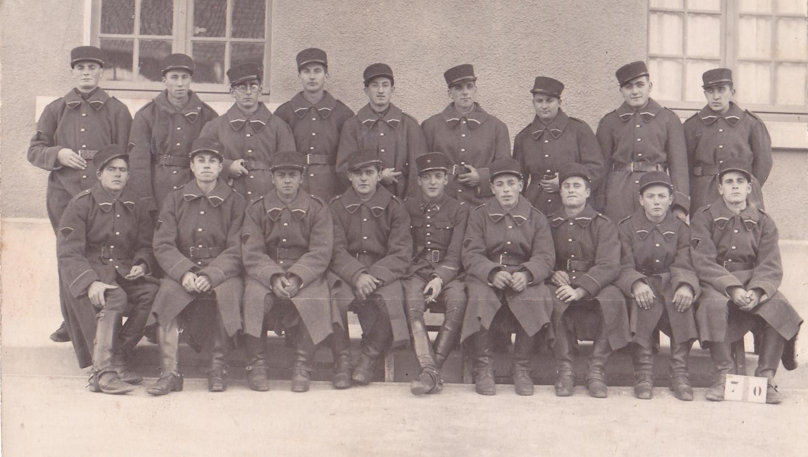 Régiment des Dragons Orange 1938
