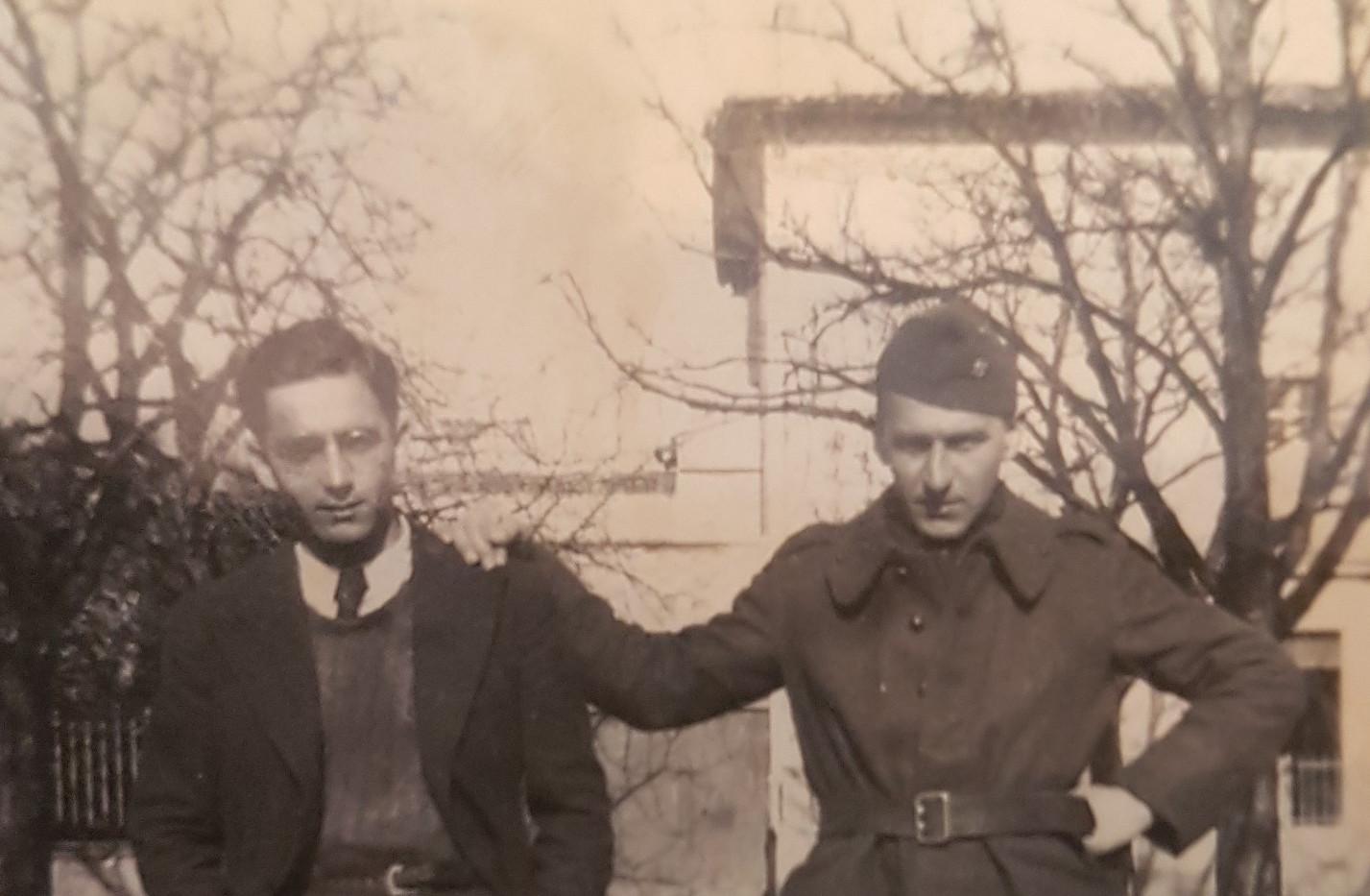 Bruno et Armand Arienti