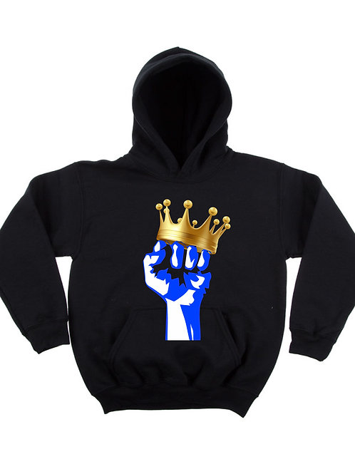 """Royal Justice - Blue"" Children's Hoodie"