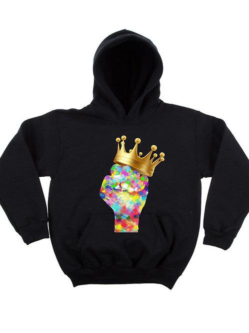 """Royal Justice - Pastel"" Children's Hoodie"