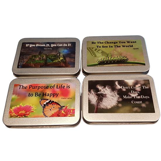Motivational Magnet Tin (10 Magnets)