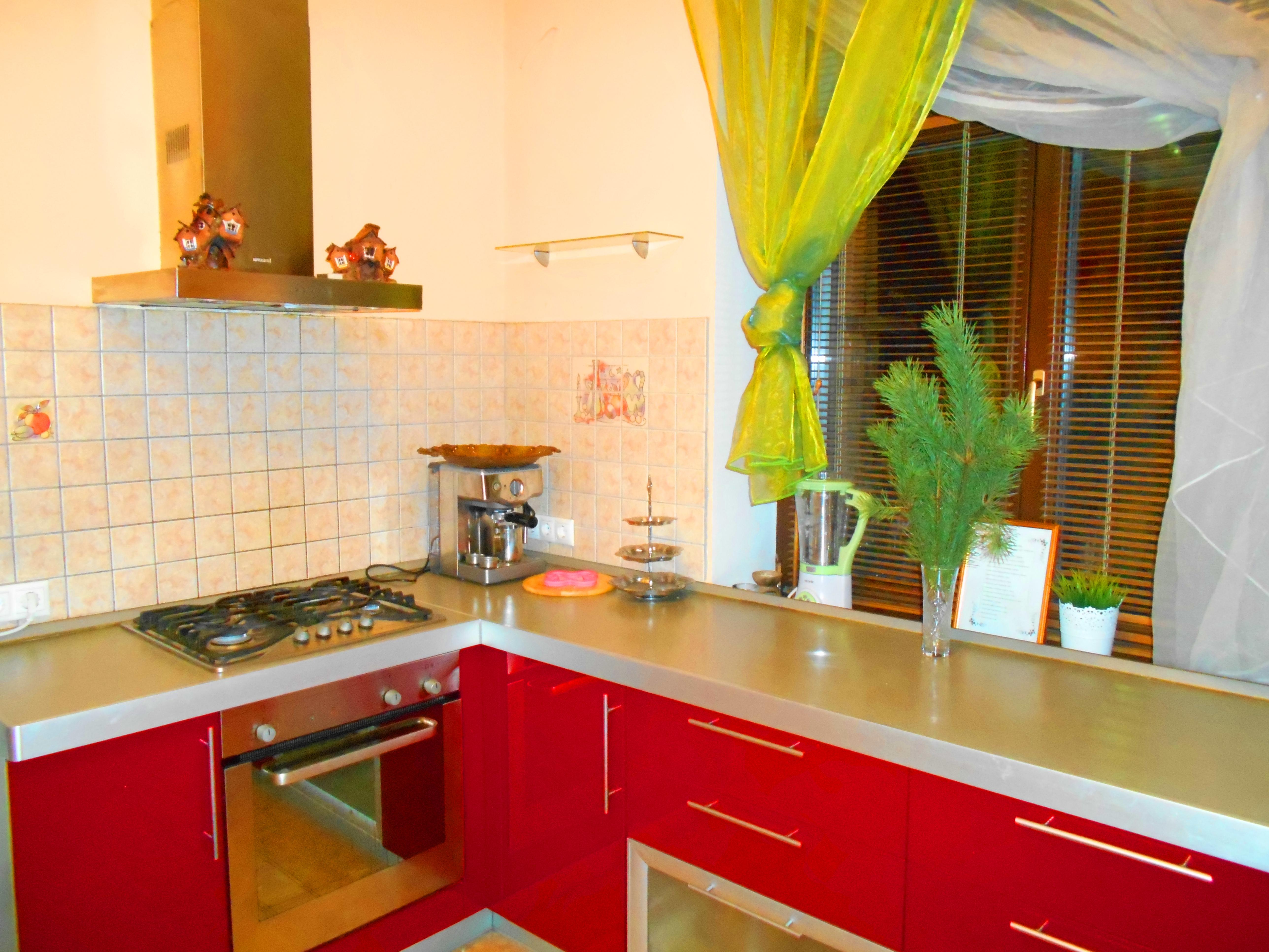 Оборудованная кухна