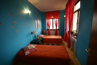 спальная комната на первом этаже