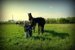 Дети и лошади