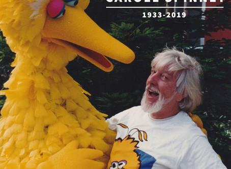 """Caroll Spinney, original """"Sesame Street"""" muppeteer, dies at 85"""