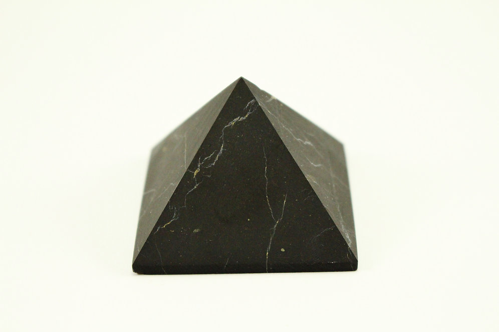 Large Unpolished Shungite Crystal Pyramid - 100% Natural - Authentic |  crystal-dreams