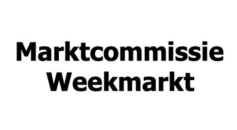 Marktcommissie Weekmarkt