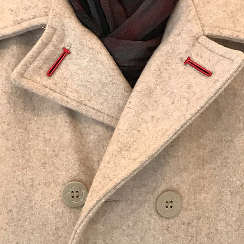 Lapel Hole Covering for Over Coats