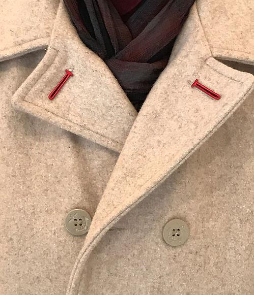 Over coat bron scarf orange tye 2020 (2)