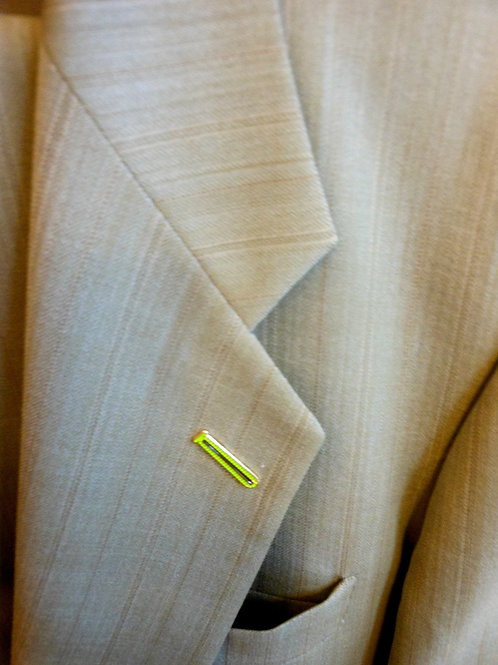 """Lapel Hole Covering """"Lapel Tye"""" Lime Green ,Sky Blue 1 1/8"""" inches"""