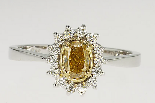 Outlet 'the sun' diamond ring