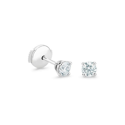 Classic round earring studs