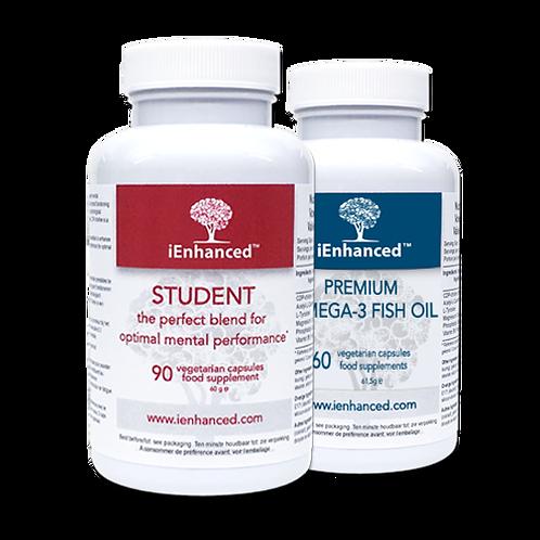 iEnhanced STUDENT+OMEGA 3 fish oil