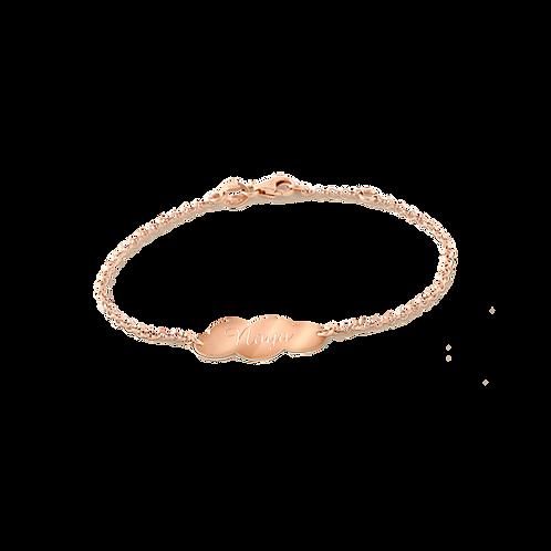 Child bracelet 18kt gold