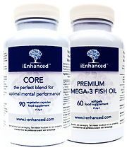Einstein pack iEnhanced Core + Premium Omega-3