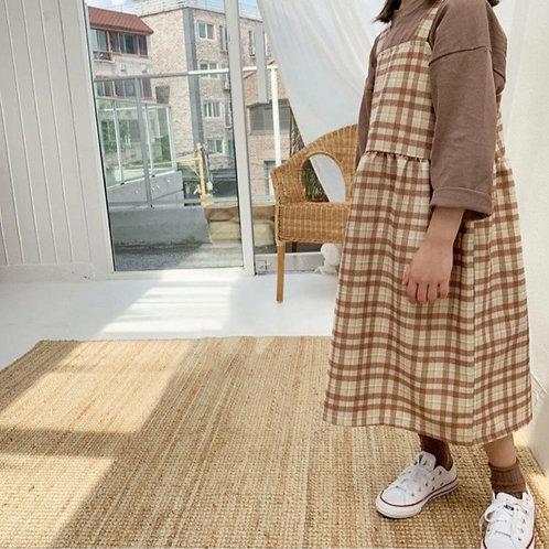 Agatha Dress (brown)