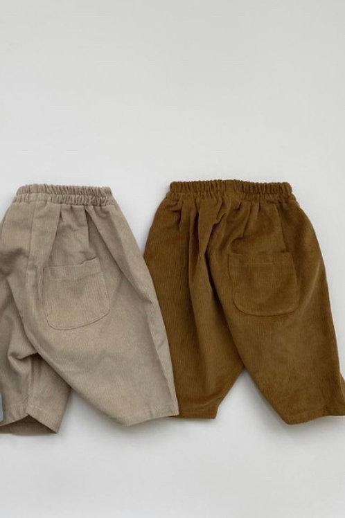 Butter Corduroy Trousers (beige)