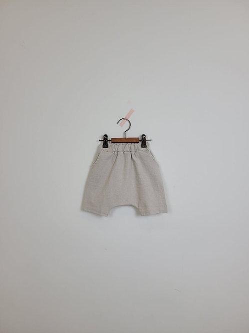 Knee Baggy Shorts (cream)