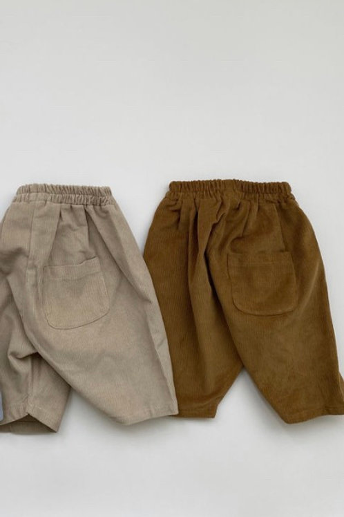 Butter Corduroy Trousers (brown)