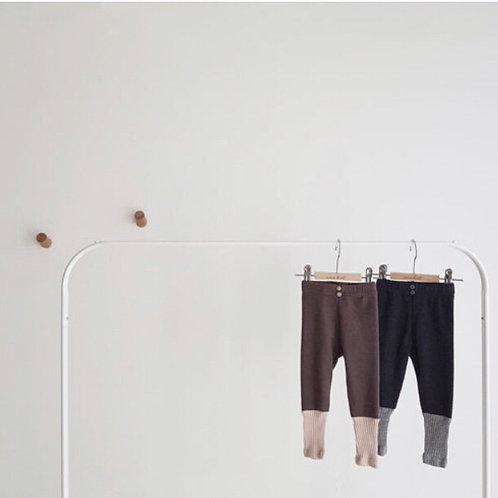 Cezanne leggings (chocolate)